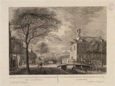 Gezicht van het Oude-Zyds-Huyszitten-Aalmoesseniers-Huis