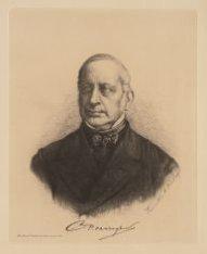 Portret van koopman Christiaan Pieter van Eeghen (1816-1889), oprichter van (ond…