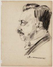 Portret van S. Rodrigues de Miranda (1875-1942), raadslid S.D.A.P. 1911-1939, we…