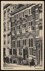 Het Rembrandthuis in de Jodenbreestraat 4
