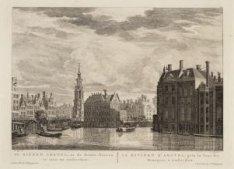 De Binnen Amstel, na de Munts-Tooren te zien, tot Amsterdam