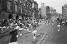 Amsterdams fanfarecorps voor het Koninklijk Paleis, Dam 14