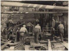 De bouw van het Gemeente Girokantoor, Oudezijds Voorburgwal 274