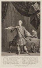 J. Punt, in het Caracter van Achilles, 't Laatste Toneel des Vierden Bedrijf