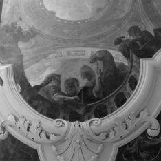 Keizersgracht 265, plafondschildering uit de eerste helft van de 18e eeuw op de …