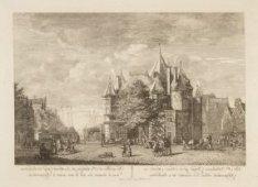 De St. Anthonies Waegh op de Nieuw-Markt, en Schrijershoeks Toren, in 't verschi…