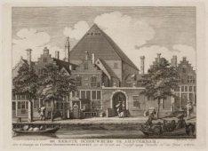 De eerste Schouwburg te Amsterdam, onder de benaaminge van Costers Nederduitsche…