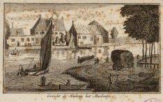Amsteldijk gezien over de Amstel naar herberg Het Molentje (Korte Ouderkerkerdij…