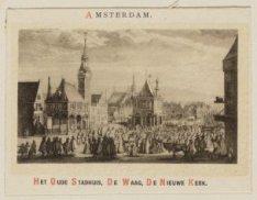 Het Oude Stadhuis, De Waag, De Nieuwe Kerk