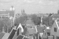 De Keizersgracht gezien vanaf Keizersgracht 220 (Onze Lieve Vrouwekerk) richting…