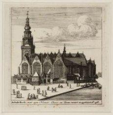 De Oude Kerck; met een Nieuwe Choor en Tooren verciert en opgebouwt Ao 1566