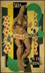 30 April Bal Rouge + Noir in de Kring. Portret van Mien