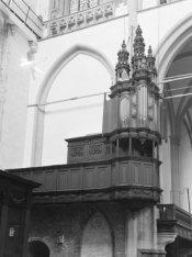 Nieuwezijds Voorburgwal 143, Nieuwe Kerk, het kleine orgel