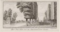 Het Tol-hek aan de Amsterdamse Vaart bij Haarlemmerliede