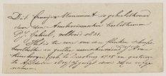 Beschrijving van het grafmonument voor J.H. van Kinsbergen in de Nieuwe Kerk. He…