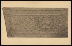 Museum Amstelkring, Oudezijds Voorburgwal, 40 met de grafzerk van priester Woute…