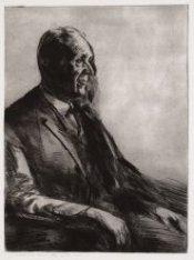Portret van prof. dr. I.Q. van Regteren Altena (1899-1980), hoogleraar kunstgesc…