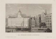Das Königliche Schloss in Amsterdam