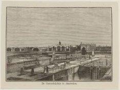 De Oosterdoksluis te Amsterdam