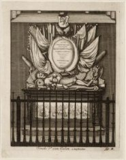 Tombe de van Galen. a Amsterdam