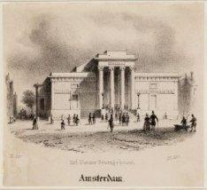 Het Nieuwe Beursgebouw. Amsterdam