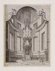 Afbeeldinge van 't Orgel in de Lutherse Nieuwe Kerk