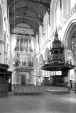 Orgel en preekstoel van de Nieuwe Kerk, Dam 12