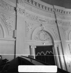 Van Baerlestraat 98, Kleine Zaal van het Concertgebouw, detail van het stucwerk