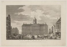 Het Stadhuis, van vooren