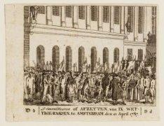 Dimmitteeren of Afzetten van IX wettige Raaden te Amsterdam den 21 April 1787