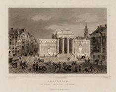 Amsterdam. Die Börse. De Beurs. La Bourse