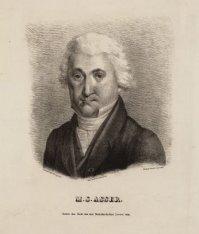 Portret van Mozes Salomon Asser (1754-1826), jurist en koopman in cacao, Ridder …