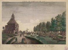 Vuë de la Porte de Muiden, a coté du Plantâge