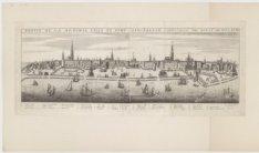 Profil de la renomee ville et port demstredam cappitalle des estats de Hollande