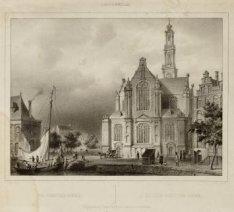 De Westerkerk vanaf de Keizersgracht
