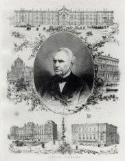Portret van Cornelis Outshoorn (1810-1875)