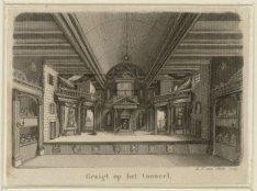 Gezicht op het toneel van de Amsterdamsche Schouwburg, Keizersgracht 384, ook we…