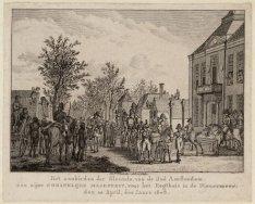 Het aanbieden der Sleutels, van de stad Amsterdam