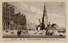 Gesicht van de Haringpakkery, op den 15 Novem.r 1775