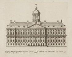 ''t Stadhuis van Amsteldam van vooren