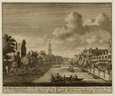 De Keisers Graft, verby de Schouburg van de Huidestraat naar de Wester Kerk