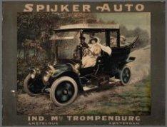 Affiche voor Spijker Auto, gedrukt door Emrik en Binger