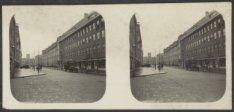 Stuyvesantstraat 2-38 (rechts, v.r.n.l.), gezien vanaf de Van Rensselaerstraat i…