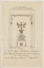 Grafmonument van J.C.J. van Speyk in de Nieuwe Kerk. Vervaardigd door  Charles S…