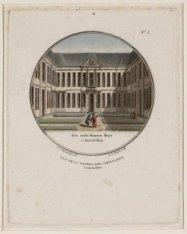 Vue de la Maison des Vieillards.  Het oude Mannen Huys t`Amsterdam