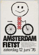 Amsterdam fietst