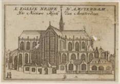 L'eglise neuve d'Amsterdam - De Nieuwe Kerk van Amsterdam