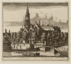 De Oude Kerk en Tooren, op het Oude Kerkspleyn