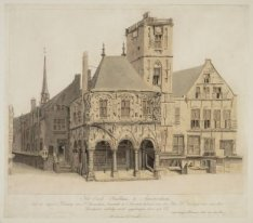 Het Oude Stadhuis, te Amsterdam