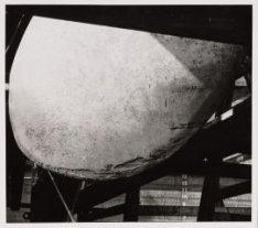 Schroefblad midden vóór van het ms. Oranje